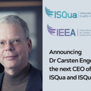 Announcing Dr Carsten Engel as the next CEO of ISQua and ISQua EEA