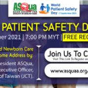 ASQua World Patient Safety Day 2021 Virtual Celebration