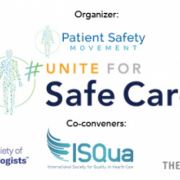 ISQua is Joining Forces for #UniteForSafeCare World Patient Safety Day Campaign