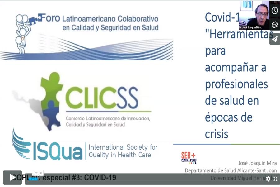 Covid-19: Herramientas para acompañar profesionales de salud en épocas de crisis