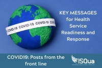 Preparing to manage cases of COVID-19 in health facilities in low income countries – KEY MESSAGES