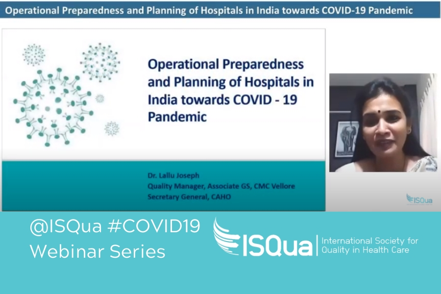 Recorded Webinar: Operational Preparedness and Planning of Hospitals in India towards COVID-19 Pandemic