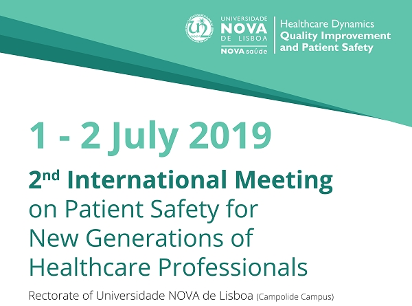 2nd International Meeting on Patient Safety for New Generations of Healthcare Professionals
