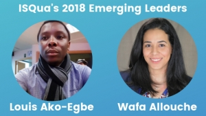 Meet ISQua's 2018 Emerging Leaders