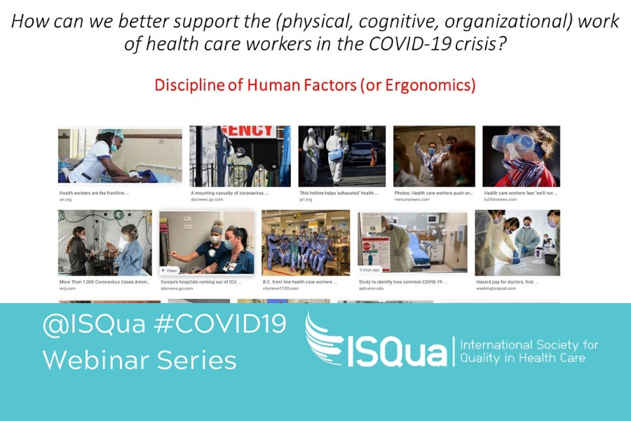 Webinar Recording: Human Factors Systems Approach and the COVID-19 Healthcare Crisis
