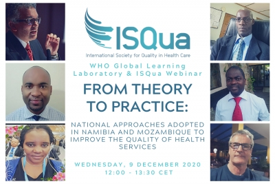 WHO GLL and ISQua Webinar: From Theory to Practice - Namibia and Mozambique