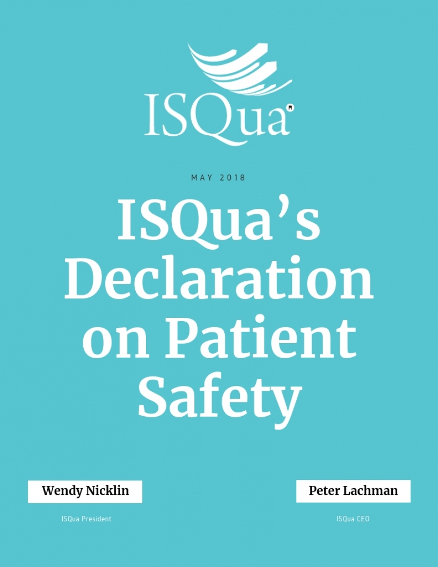 ISQua's Declaration on Patient Safety
