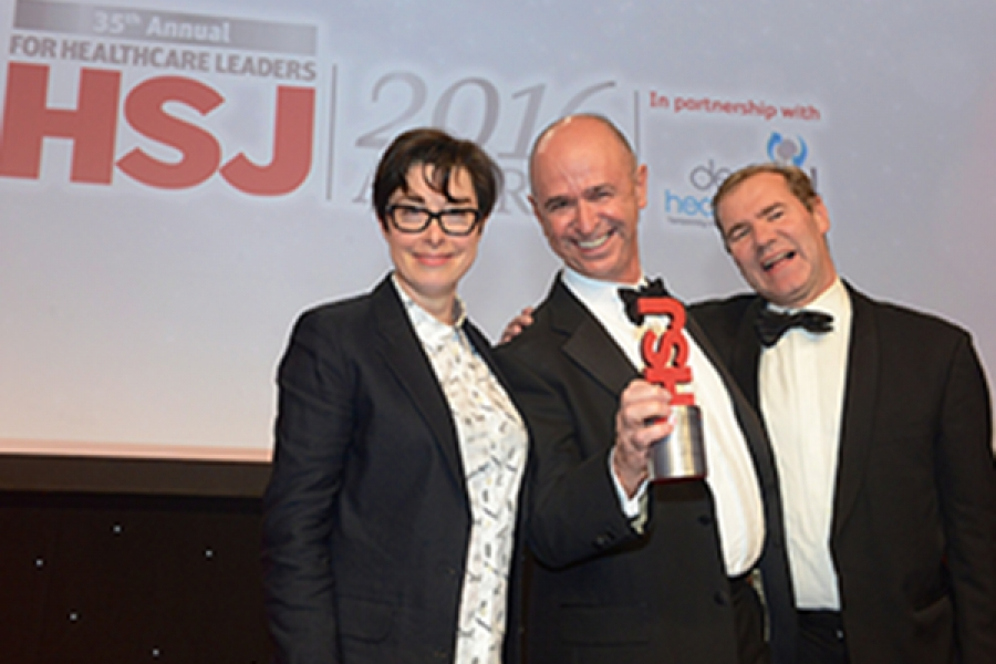 Peter Lachman - HSJ Clinical Leader of the Year