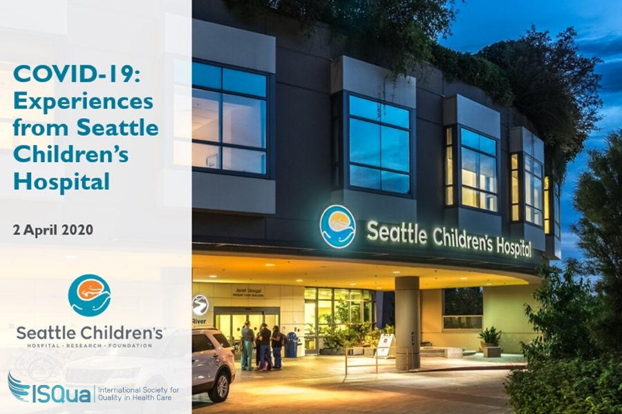 COVID-19: Experiences from Seattle Children's Hospital