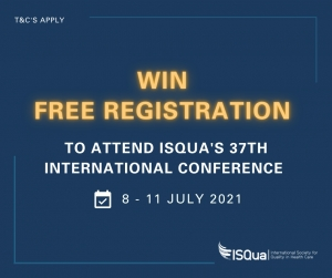 WIN FREE registration to ISQua's 37th International Virtual Conference - Social Media Competition