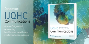 Launch of new ISQua Journal – IJQHC Communications