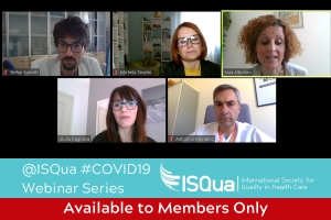 Webinar Recording: Promoting patient safety at time of COVID-19