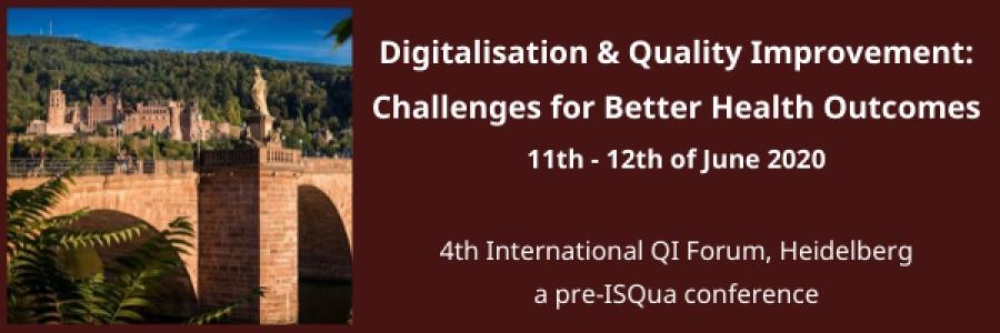 4th International QI Forum, Heidelberg