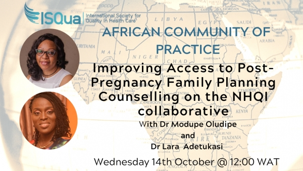 Watch the Recording: Improving Access to Post Pregnancy Family Planning on the NHQI Collaborative