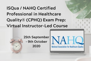 NAHQ/ISQua CPHQ Exam Prep: Virtual Instructor Led Course