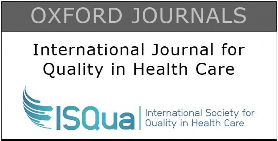 Become ISQua's next Editor-in-Chief of the International Journal for Quality in Health Care