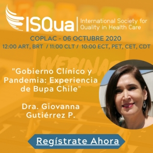 Watch the Recording: Gobierno Clínico y Pandemia - Experiencia de Bupa Chile