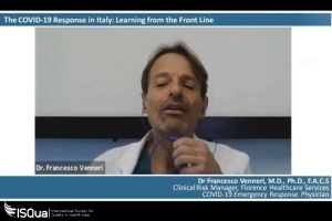 Webinar Recording: The COVID-19 Response in Italy: Learning from the front line