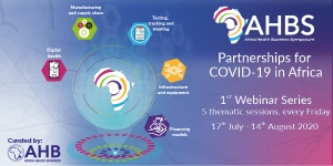 ABHS Webinar Series - Partnerships for COVID19 in Africa