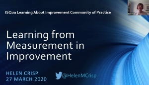 Learning from Measurements in Improvement with Helen Crisp