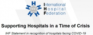 IHF Statement Endorsement - Supporting Hospitals in a Time of Crisis
