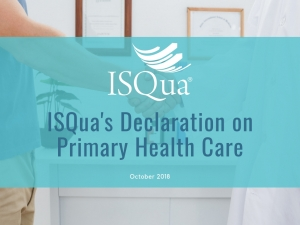 ISQua support of the Astana Declaration