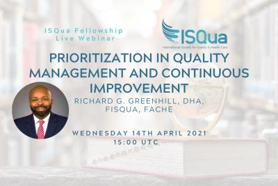Watch the Recording: Prioritization in Quality Management and Continuous Improvement