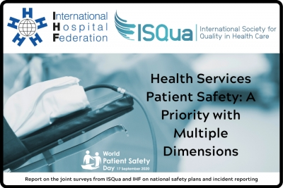 Health Services Patient Safety: A Priority with Multiple Dimensions