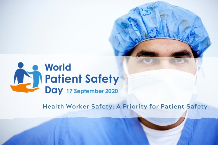 WHO - Working together for World Patient Safety Day 2020