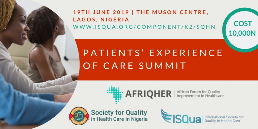 Patients' Experience of Care Summit