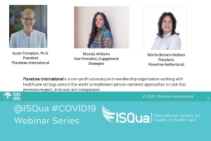 Recorded Webinar: How is COVID-19 impacting patients and their care?