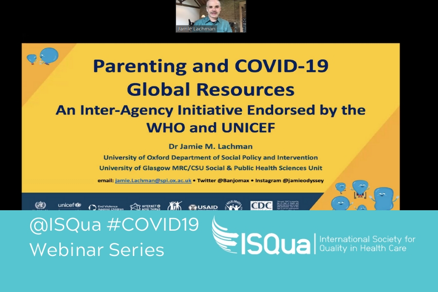 Webinar Recording: Parenting and COVID-19 Global Resources with Dr Jamie Lachman
