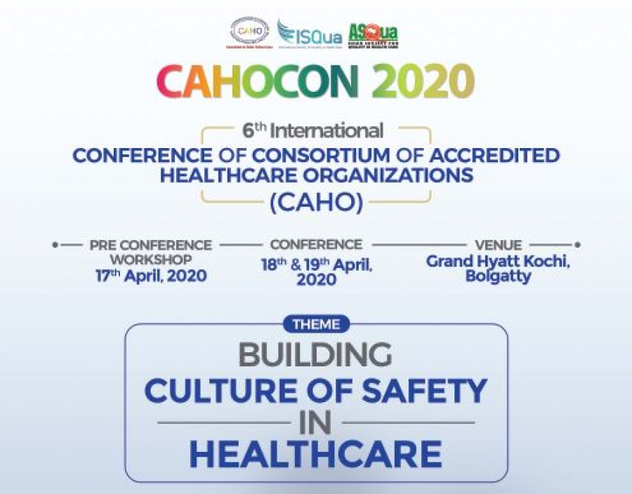 CAHOCON - CAHO's 6th International Conference of Consortium of Accredited Healthcare Organizations