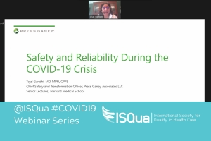 Webinar Recording: Safety and Reliability During the COVID-19 Crisis with Dr Tejal Gandhi