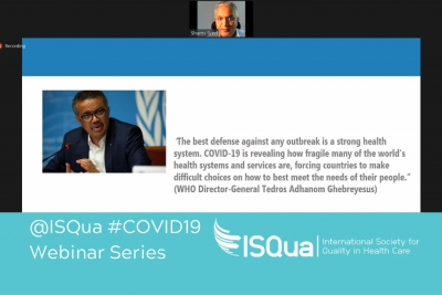 Webinar Recording: COVID-19 and maintaining quality essential health services - WHO