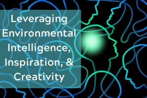 Leveraging Environmental Intelligence, Inspiration, & Creativity