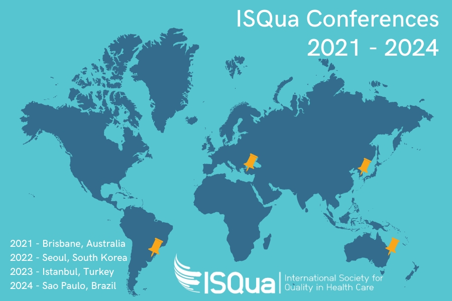ISQua Conferences confirmed to 2024!