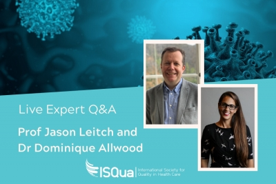 Live Expert Q&A with Prof Jason Leitch and Dr Dominique Allwood