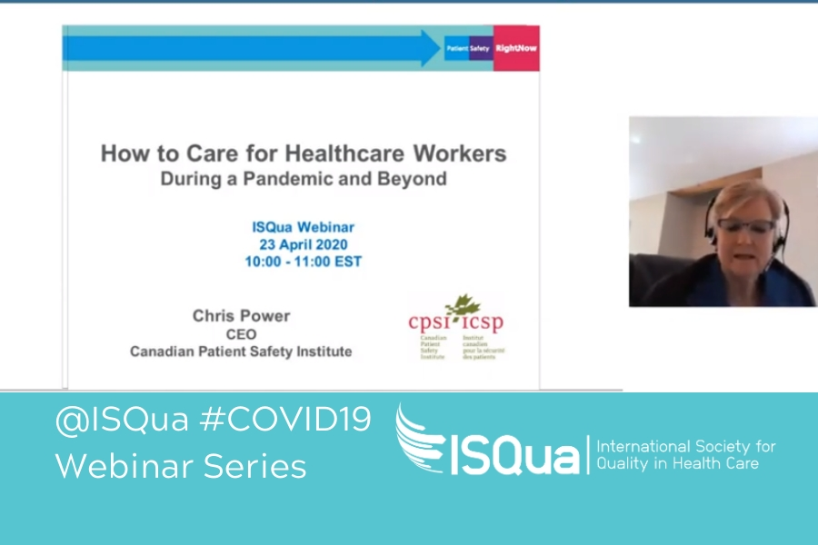 Webinar Recording Healthcare Worker Safety During Global Pandemics