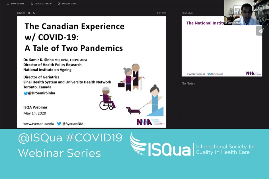Webinar Recording: The Impact of COVID-19 on Older Populations and their Carers