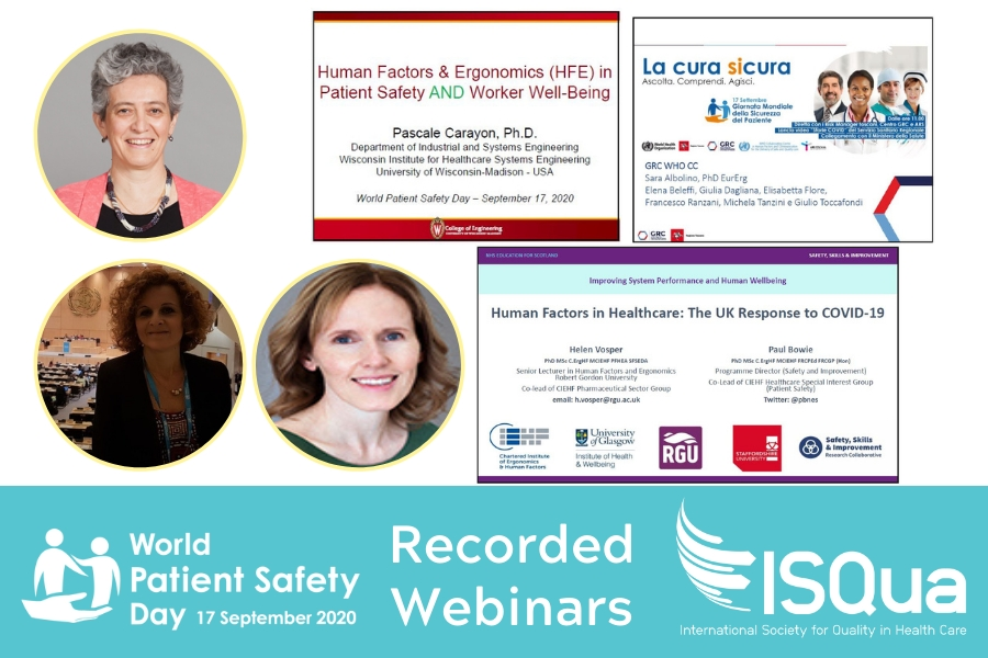 ISQua Webinar Recording - The Importance of Human Factors in Preventing Harm and Protecting Workers
