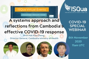 Watch the Recording: A systems approach and reflections from Cambodia's effective COVID-19 response