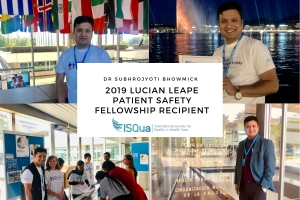 Why should you apply for the 2020 Lucian Leape Patient Safety Fellowship?