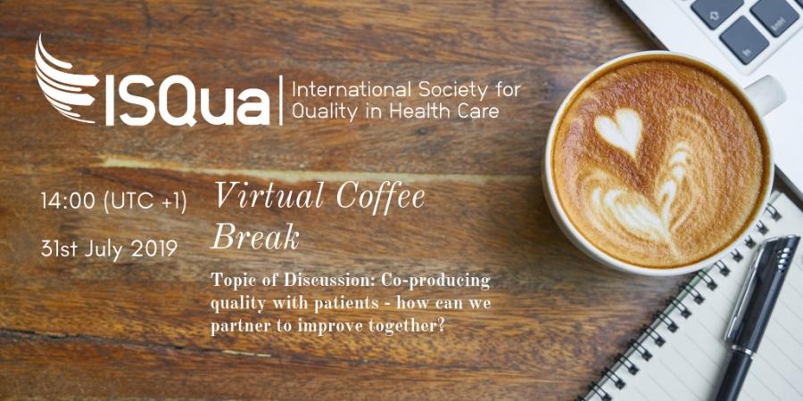 ISQua Conference 2019 - Virtual Coffee Break